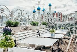 Оригинальный ресторан «Счастье на крыше»