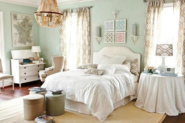 Оформление женской спальни